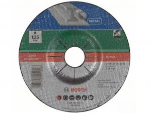 Bosch hajlított nagyolótárcsa - fémhez, 125x6.0x22.23mm