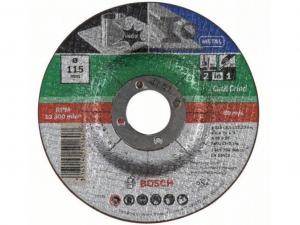 Bosch 2 az 1-ben darabolótárcsa - fém és inox, 115x2.5x22.23mm