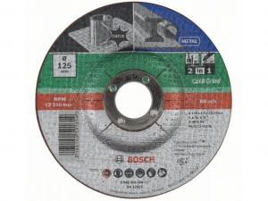 Bosch 2 az 1-ben darabolótárcsa - fém és inox, 125x2.5x22.23mm
