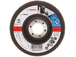 Bosch X571 fíber csiszolótárcsa - fémhez, 115mm, 80 szemcseméret