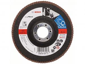 Bosch X571 fíber csiszolótárcsa - fémhez, 125mm, 60 szemcseméret