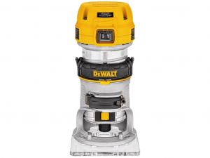 DeWALT D26200-QS 900 W-os, 8 mm-es marógép fix talppal