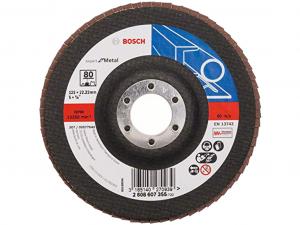 Bosch X551 fíber csiszolótárcsa - 125mm, 80 szemcseméret