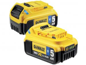 DeWALT DCB284B-XJ 2db 18V 5Ah XR Li-Ion Bluetooth akkumulátor