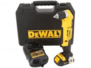 DeWALT DCD740C1-QW 18 V-os XR Li-Ion sarokfúrógép kofferben