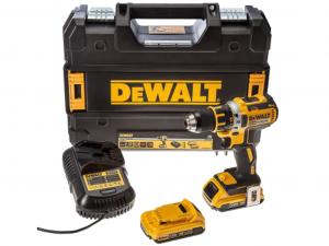 DeWALT DCD790D2-QW 18.0 V-os XR Li-Ion kefe-nélküli fúró-csavarozó kofferben