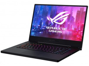 Asus ROG Zephyrus G GA502DU-AL025TC 15,6 FHD 120Hz, AMD® Ryzen™ 7 3750H, 16GB, 512GB SSD, NVIDIA® GeForce® GTX 1660Ti 6GB, Windows 10 Home, háttérvilágítású billentyűzet, Fekete notebook
