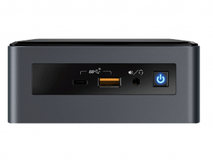 Intel® NUC 8 Mainstream-G NUC8i7INHJA asztali PC