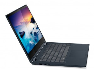 Lenovo Ideapad C340 14 FHD, Intel® Core™ i5-10210U, 8GB, 512GB SSD, NVIDIA® GeForce® MX230 2GB, Windows® 10 Home, Érintőkijelző, Aktív ceruza, háttérvilágítású billentyűzet Fekete Notebook