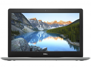 Dell Inspiron 3582 15.6 HD, Intel® Pentium N5000, 4GB, 128GB SSD, Intel® UHD Graphics 605, Linux, ezüst notebook