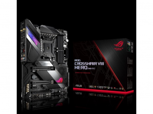 ASUS ROG CROSSHAIR VIII HERO (WI-FI) AMD X570 SocketAM4 ATX alaplap
