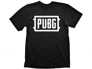 PUBG Logo fekete-fehér póló