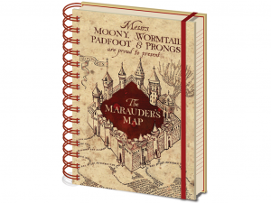 Harry Potter The Marauders Map A5 jegyzetfüzet