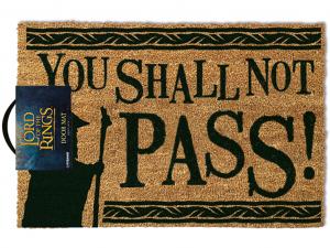 Gyűrűk ura You Shall Not Pass lábtörlő - 40x60cm