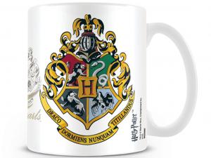 Harry Potter Hogwarts Crest 315ml-es bögre