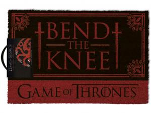 Trónok harca Bend the Knee lábtörlő - 40x60cm
