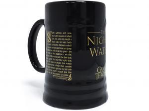 Trónok harca Nights Watch 500ml-es kerámia korsó