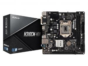Asrock H310CM-HDV alaplap - s1151, Intel® H310, mATX