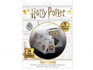Harry Potter 34 darabos matrica csomag