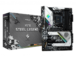 ASRock X570 Steel Legend alaplap - sAM4, AMD X570,