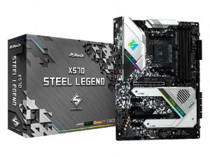 ASRock X570 Steel Legend alaplap - sAM4, AMD X570,
