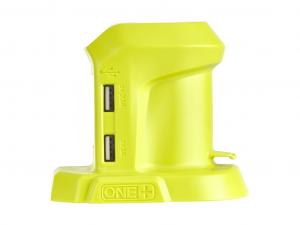 Ryobi 18 V USB-töltő (powerbank), akku és töltő nélkül