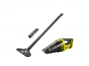 Ryobi 18 V kézi porszívó, akkumulátor és töltő nélkül, padlóápoló kittel