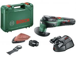 Bosch UniversalMulti 12 Akkus multifunkcionális gép kofferben