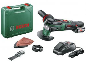 Bosch AdvancedMulti 18 Akkus multifunkcionális gép kofferben