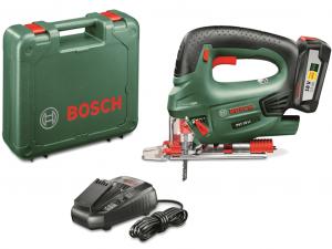 Bosch PST 18 LI Akkus szúrófűrész kofferben