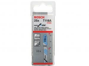 Bosch T 118 A Szúrófűrészlap - 25db, fémekhez