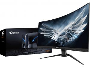 GIGABYTE Aorus CV27F-EK Full HD VA LED ívelt monitor