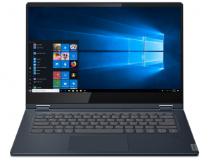 Lenovo IdeaPad C340 81N400BFHV 14 HD Touch, Intel® Pentium® Dual Core™ 5405U, 4GB, 128GB SSD, Intel® UHD Graphics 610, Win10S, kék notebook