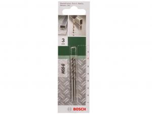 Bosch DIN 338 HSS-G fémfúró - 2db, 61x3mm
