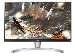 LG 27UL650-W - Fehér 27 Col 4K IPS monitor
