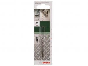 Bosch DIN 338 HSS-G fémfúró - 2db, 2x24x49mm