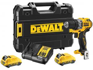 DeWALT DCD701D2-QW 12V XR kefe nélküli kompakt fúró-csavarozó