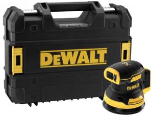 DeWALT DCW210NT-XJ 18V 125mm Excentercsiszoló kofferben - akku és töltő nélkül