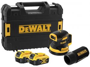 DeWALT DCW210P2-QW 18V XR kefe-nélküli excentercsiszoló kofferben