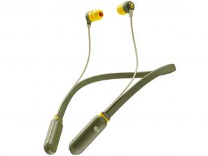 Skullcandy S2IQW-M687 INKDPlus Wireless zöld-sárga fülhallgató (Olive)