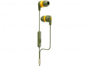 Skullcandy S2IMY-M687 INKD Plus zöld-sárga fülhallgató (Olive)