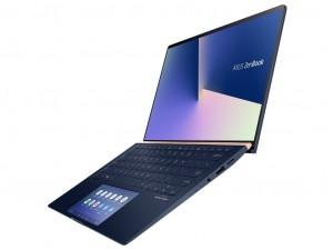 ASUS ZenBook UX434FLC-A6517T 14 FHD/Intel® Core™ i5 Processzor-10210U/16GB/256GB/NVIDIA GeForce MX250 2GB/Win10, Kék notebook