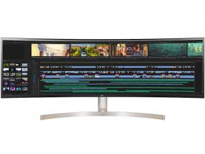 LG 49WL95C - Ívelt 49 Colos Dual-QHD (5120x1440 ) IPS monitor