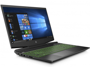 HP Gaming 15-dk0005nh 15.6 FHD, Intel® Core™ i7 Processzor-9750H, 16GB, 512GB SSD, NVIDIA GeForce GTX 1660Ti - 6GB, Win10H, Fekete Laptop