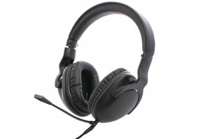 Roccat Cross Gaming mikrofonos fejhallgató fekete