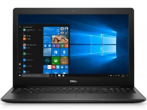 Dell Inspiron 3593 3593FI7WA1 FHD W10H Ci7 1065G7 1.3GHz 8GB 256GB MX230 Fekete Laptop