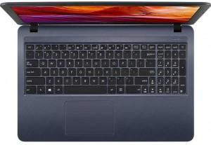 Asus VivoBook X543UA-GQ1828T -15.6 HD Matt, Intel® Pentium 4417U, 4GB DDR4, 1TB HDD, HD Graphics 610, Windows 10 Home, Ezüst Laptop
