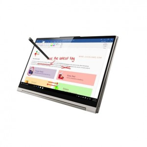 Lenovo Yoga C940 14 WQHD, Intel® Core™ i7-1065G7, 16GB, 1TB SSD, Intel® Intel® Iris Plus , Windows® 10 Home, Lenovo USB-C 3-in-1 Hub, háttérvilágítású billentyűzet Szürke Laptop