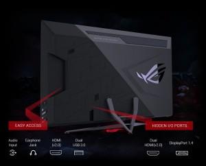 ASUS ROG STRIX XG438Q- 43 Colos 4K 3840X2160, VA, LED monitor - monitor