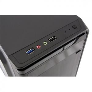 Expert PC Office Intel® Core™ i5 Processzor-9400 - 2,90GHz, 8GB RAM, 240GB SSD, Intel® UHD Graphics 630, DVDRW, Fekete Asztali PC